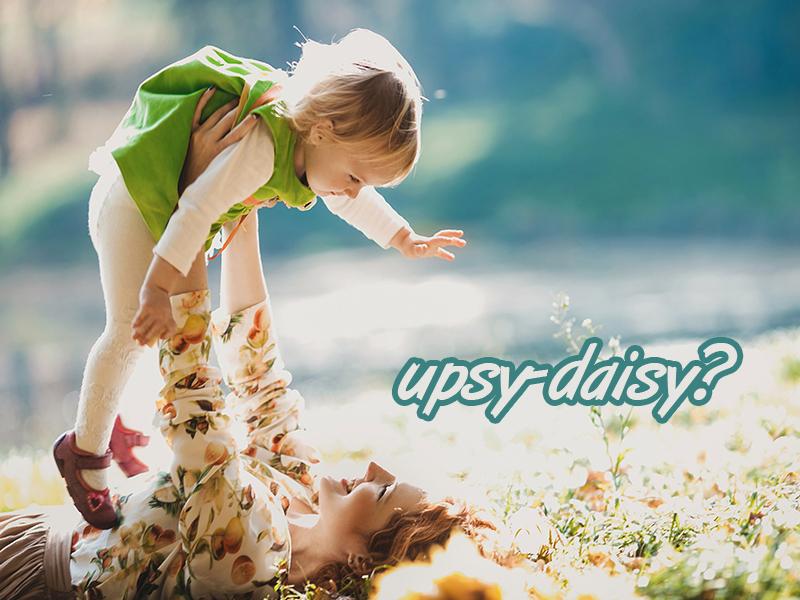 upsy-daisy upa en ingles
