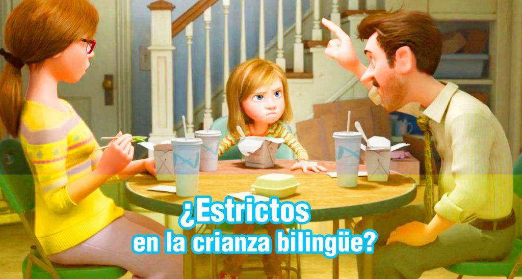 somos estrictos en la crianza bilingue