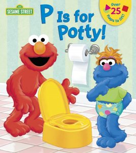 p is for potty libro ingles