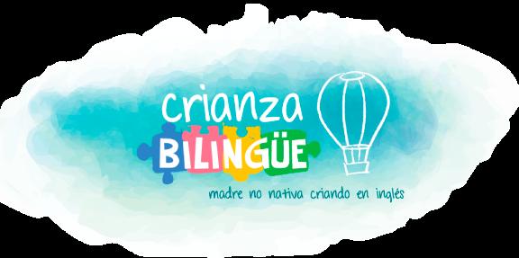 Crianza Bilingüe | Mamá no nativa bebé bilingüe logo